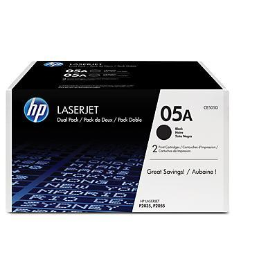 HP CE505D cartridge
