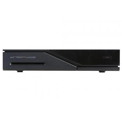Dreambox ontvanger: DM520 DVB-S2, OS, HDMI 1.4a, 512 RAM, LAN - 10/100MBit/s, USB 2.0, EPG - Zwart