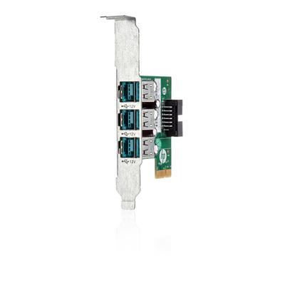 HP 3-port, 12 Volt, USB Slot expander