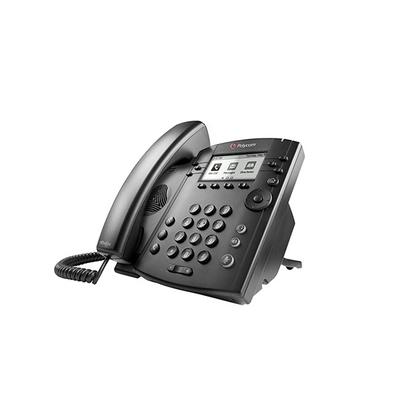 POLY VVX 301 IP telefoon - Zwart