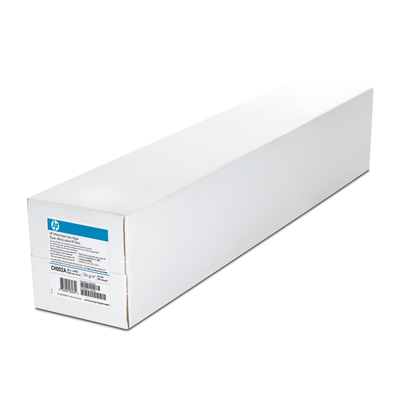 Hp fotopapier: White Satin Poster Paper 136 gsm-1524 mm x 61 m (60 in x 200 ft) - Wit