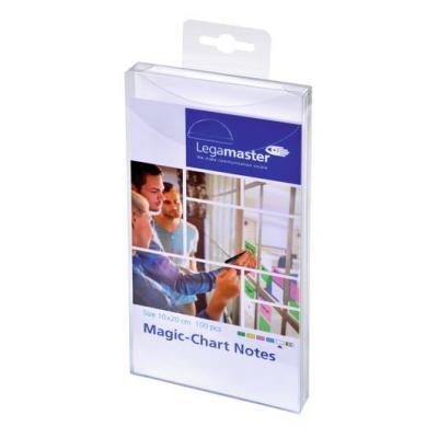 Legamaster Magic-Chart notes 10x20cm white 100pcs Board accessorie