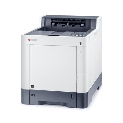 KYOCERA ECOSYS P6235cdn Laserprinter - Zwart, Cyaan, Magenta, Geel