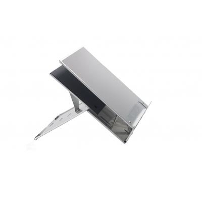 BakkerElkhuizen Ergo-Q 220 Notebooksteun - Zilver