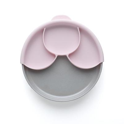Miniware Healthy Meal Peuter voeding - Grijs,Roze