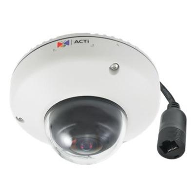 ACTi E921 Beveiligingscamera - Zwart, Wit