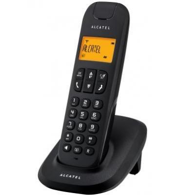 Alcatel dect telefoon: Delta 180 DUO - Zwart