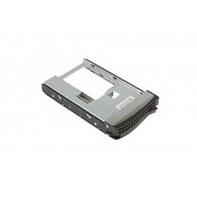 Supermicro drive bay: Spare Parts MCP-220-247 - Zwart, Metallic