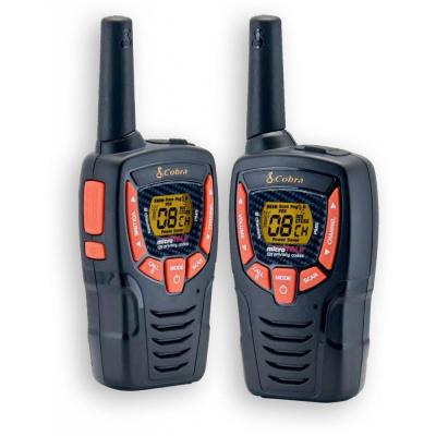 Insmat walkie-talkie: AM-645 PMR - Zwart, Oranje