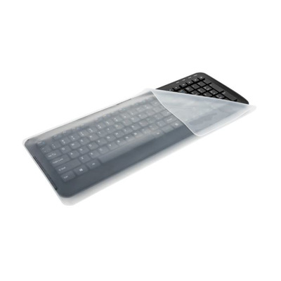 Targus Universal Keyboard Cover, Silicone, Extra Large - 3 pack Toetsenbord accessoire - Doorschijnend,Wit