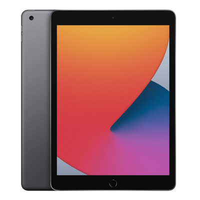 Apple iPad (2020) Wi-Fi 32GB 10.2 inch Space Grey Tablet - Grijs