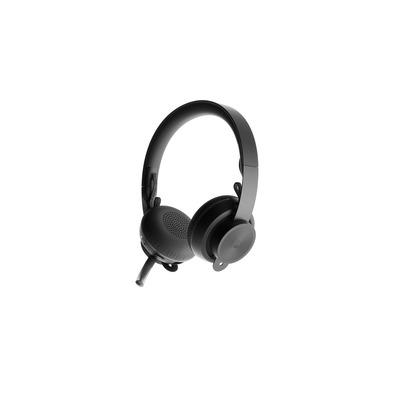 Logitech Zone Wireless Plus Headset - Zwart