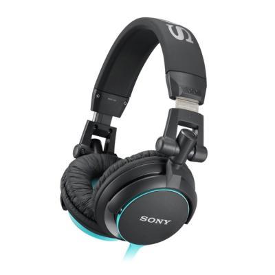 Sony koptelefoon: MDR-V55 - Zwart, Blauw