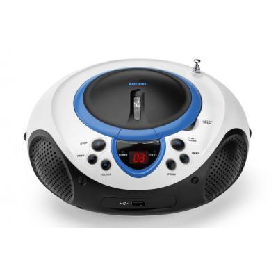 Lenco CD-radio: SCD-38 USB - Blauw