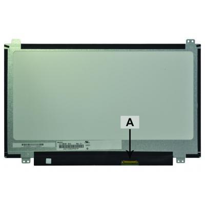 2-power notebook reserve-onderdeel: SCR0551B - Zwart, Grijs