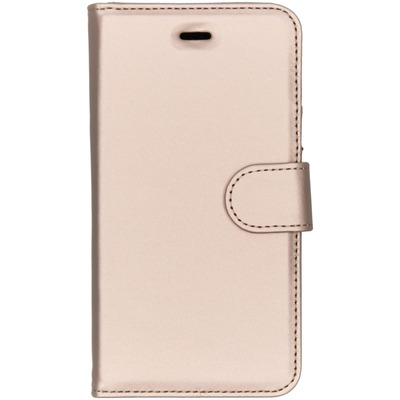 Wallet Softcase Booktype Huawei Y6 (2017) - Goud / Gold Mobile phone case