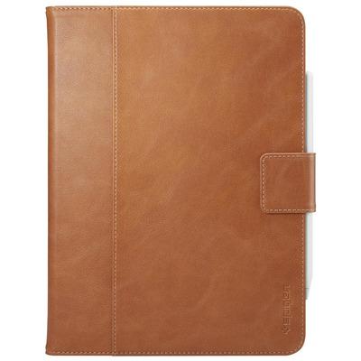 "Spigen iPad Pro 11"" (2018) Case Stand Folio (Version 2), PC + Premium Synthetic Leather Tablet case"