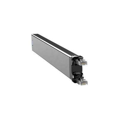 PATCHBOX 365 Cat. 6 Cassette, 50mm x 690mm x 50mm, 0.32kg - Zwart,Zilver