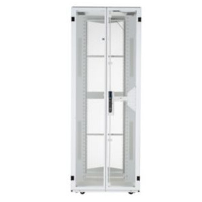 Panduit Steel, White, 800 x 1200 x 2266 mm, 48U Rack - Wit