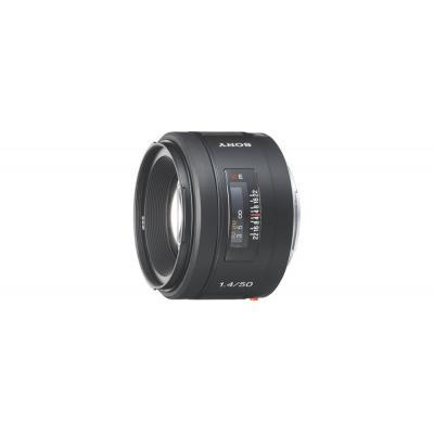 Sony camera lens: SAL-50F14 - Vaste lens met buitengewone helderheid: F1.4 - Zwart