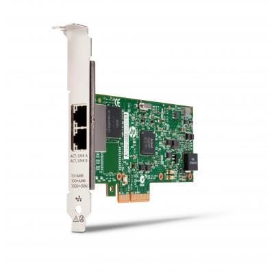 Hp netwerkkaart: 361T PCIe tweepoorts Gigabit NIC
