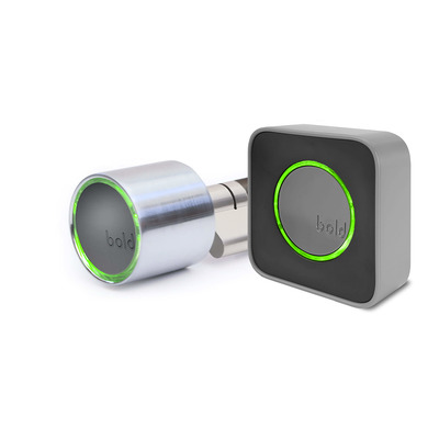 Bold Security Technology SX-33 Bold Smart Cylinder + Bold Connect - Roestvrijstaal