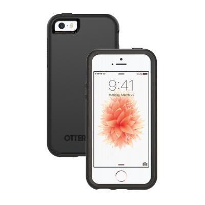 Otterbox mobile phone case: Symmetry Series for iPhone SE - Zwart