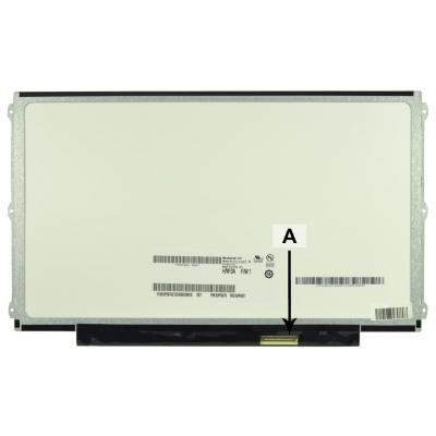 """2-power notebook reserve-onderdeel: 31.75 cm (12.5 """") WXGA HD 1366x768 LED Matte - Zwart"""