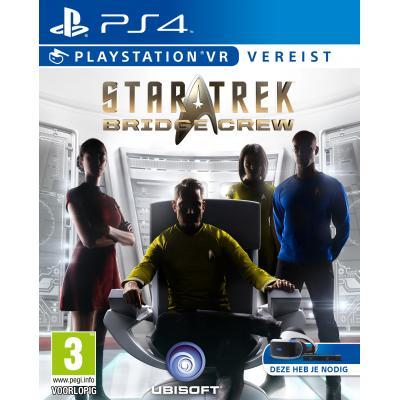 Ubisoft game: Star Trek: Bridge Crew VR  PS4