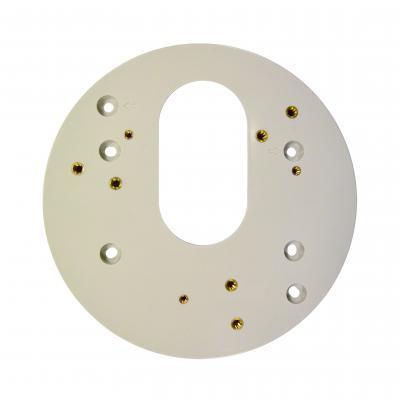 Acti beveiligingscamera bevestiging & behuizing: Gang Box Converter for Indoor Domes - Grijs