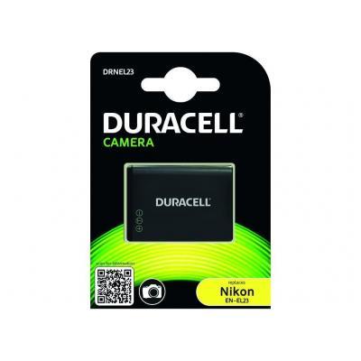 Duracell batterij: Camera Battery - replaces Nikon EN-EL23 Battery - Zwart