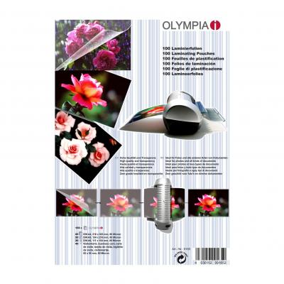 Olympia laminatorhoes: Lamination Pouches, A4, A5, A6, Business Cards - 80 Micron