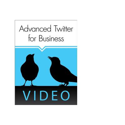 O'Reilly boek: Webcast: Advanced Twitter for Business - eBook (PDF)