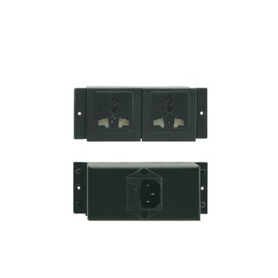 Kramer Electronics TS-1 Elektrische stekker - Zwart