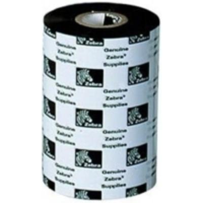 Zebra 2300 Wax, 33mm x 74m Printerlint - Zwart
