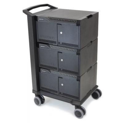 Ergotron multimedia kar & stand: Cart 48 - Zwart