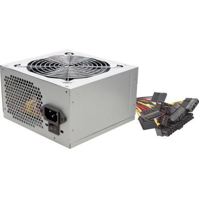 Linkworld 600W, 120mm fan, Silver Power supply unit - Zilver