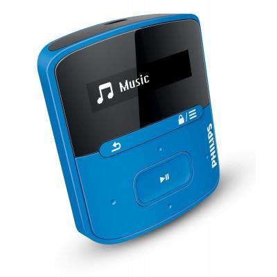 Philips MP3 speler: GoGear MP3-speler SA4RGA04BN/12 - Blauw