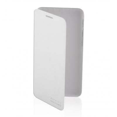 Alcatel mobile phone case: POP 3 (5) 3G Flipcover Silver - Zilver