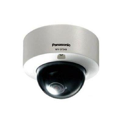 Panasonic WV-SFR611L, 1/3MOS, 1080p/720p, H.264, IR LED 30m, 2.8 - 10mm Beveiligingscamera - Wit