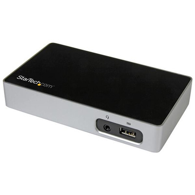 StarTech.com DVI voor laptops USB 3.0 Universele laptop port replicator DVI dock voor hot desks Docking .....