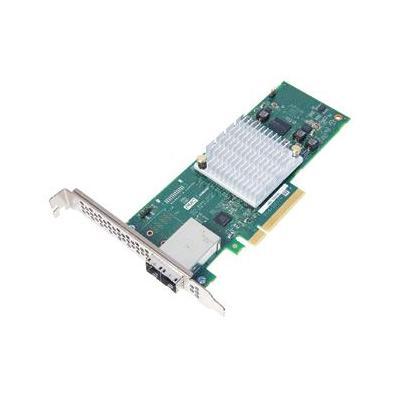 Adaptec interfaceadapter: 1000-8e - Aluminium, Zwart, Groen