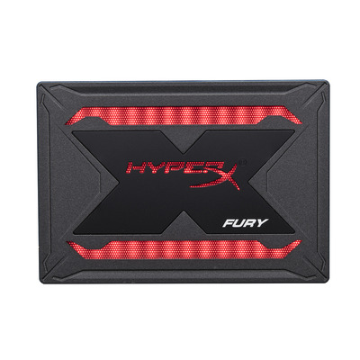 HyperX FURY RGB SSD - Zwart