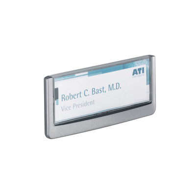 Durable Click Sign 149 x 52.5mm Naambord  - Grafiet