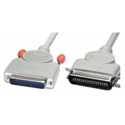 Lindy printerkabel: Printer Cable, 3m - Grijs