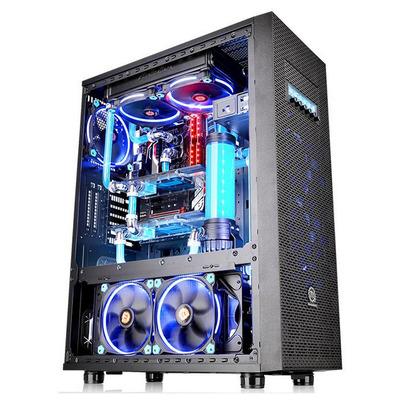 Thermaltake Core X71 TG Edition Behuizing - Zwart