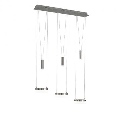 Wofi suspension lighting: JETTE - Chroom, Nikkel