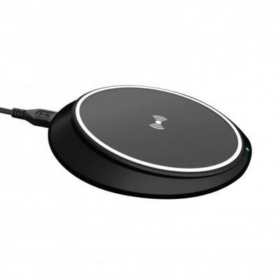 Xqisit Wireless Fast Charger iPhone 10W QC EU (black) Oplader - Zwart