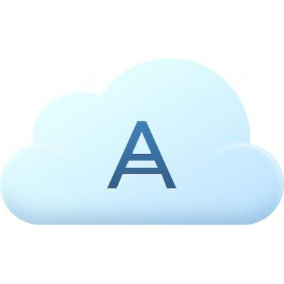 Acronis Cloud Storage, 1TB, 2Y, 1U Opslag