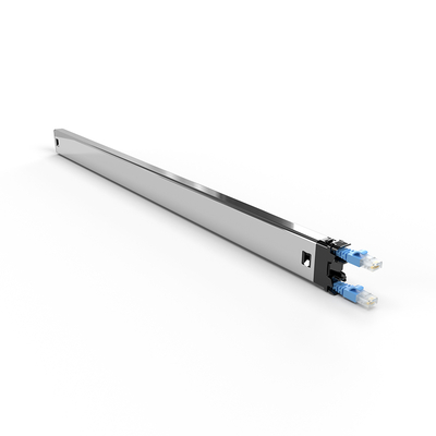PATCHBOX ® Plus+ Cat.6a Cassette (UTP, Blue, 1.8m / 30RU) Netwerkkabel - Blauw